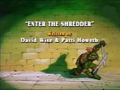 Enter The Shredder Cartoon Picture