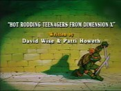 Hot Rodding Teenagers From Dimension X Cartoon Picture