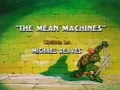 The Mean Machines Cartoon Picture