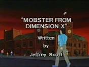 Mobster from Dimension X Cartoon Pictures