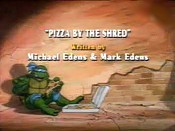 Pizza by The Shred Cartoon Character Picture