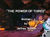 The Power Of Three Cartoon Picture