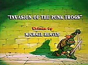 Invasion Of The Punk Frogs Cartoon Picture