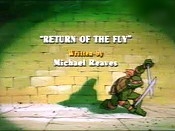 Return Of The Fly The Cartoon Pictures