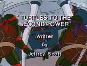 Turtles To The Second Power Cartoon Picture