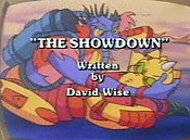 The Showdown Cartoon Picture