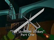 The Shredder Strikes, Part 1 Pictures In Cartoon