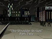 The Shredder Strikes, Part 2 Pictures In Cartoon