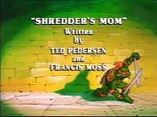 Shredder's Mom Pictures In Cartoon