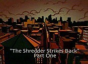 The Shredder Strikes Back, Part 1 Cartoon Pictures