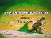 The Incredible Shrinking Turtles The Cartoon Pictures