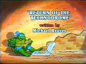 Return Of The Technodrome Picture To Cartoon