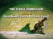 The Turtle Terminator Cartoon Character Picture