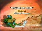 Turtles On Trial Cartoon Picture