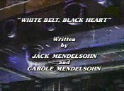 White Belt, Black Heart Picture Of Cartoon
