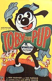Toby The Pup Theatrical Cartoon Series Logo
