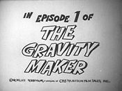 The Gravity Maker Cartoon Character Picture