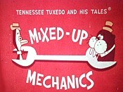 Mixed-Up Mechanics Cartoon Character Picture