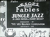 Jungle Jazz Cartoon Picture