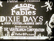Dixie Days Picture Of Cartoon