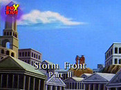 Storm Front, Part II Cartoon Picture
