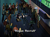 Rogue Recruit Cartoon Character Picture