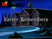 Xavier Remembers Cartoon Picture