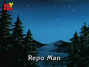 Repo Man Cartoon Picture