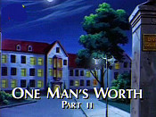 One Man's Worth, Part II Pictures Of Cartoons