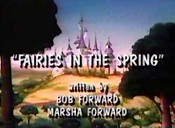 Fairies In The Spring Cartoon Picture