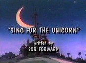 Sing For The Unicorn Cartoon Picture
