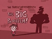 The Big Problem! Cartoon Character Picture