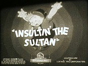 Insultin' The Sultan Cartoon Picture