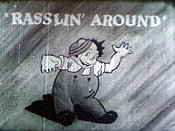 Rasslin' Round Free Cartoon Pictures