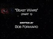 Beast Wars, Part 1 Cartoon Picture