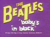 Baby's In Black Free Cartoon Pictures