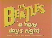A Hard Day's Night Cartoon Pictures