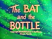 The Bat and the Bottle Pictures To Cartoon