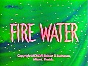 Fire Water Pictures To Cartoon