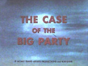 The Case Of The Big Party Cartoon Character Picture