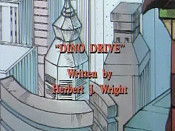 Dino Drive Cartoon Picture