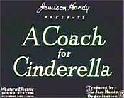 A Coach For Cinderella Cartoon Picture