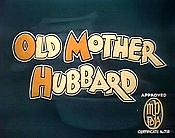 Old Mother Hubbard Picture Of The Cartoon