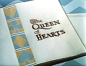 The Queen Of Hearts Picture Into Cartoon