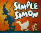Simple Simon Picture Into Cartoon