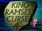 King Ramses' Curse Picture Into Cartoon