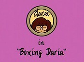 Boxing Daria Free Cartoon Pictures