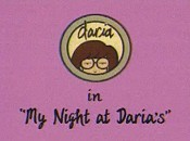 My Night At Daria's Free Cartoon Pictures