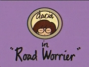 Road Worrier Free Cartoon Picture