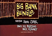 Big Bank Bungle Cartoon Character Picture